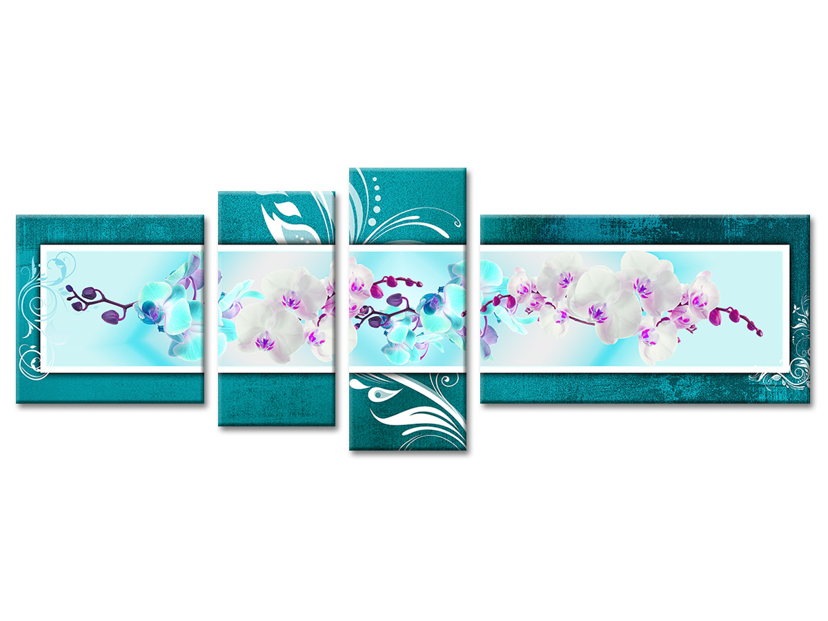 tableau turquoise