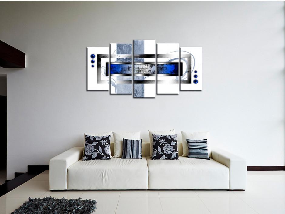 Tableau toile deco moderne abstraite
