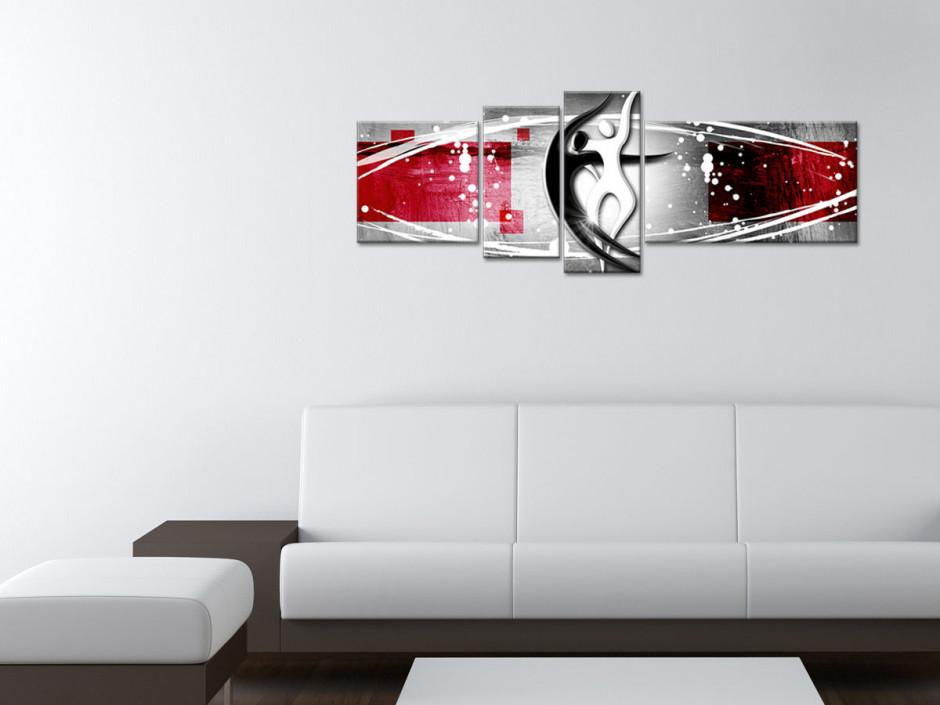 Tableau décoration murale abstraite Corvus