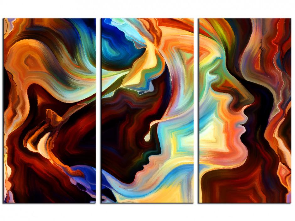 Cadre déco abstrait Nunki