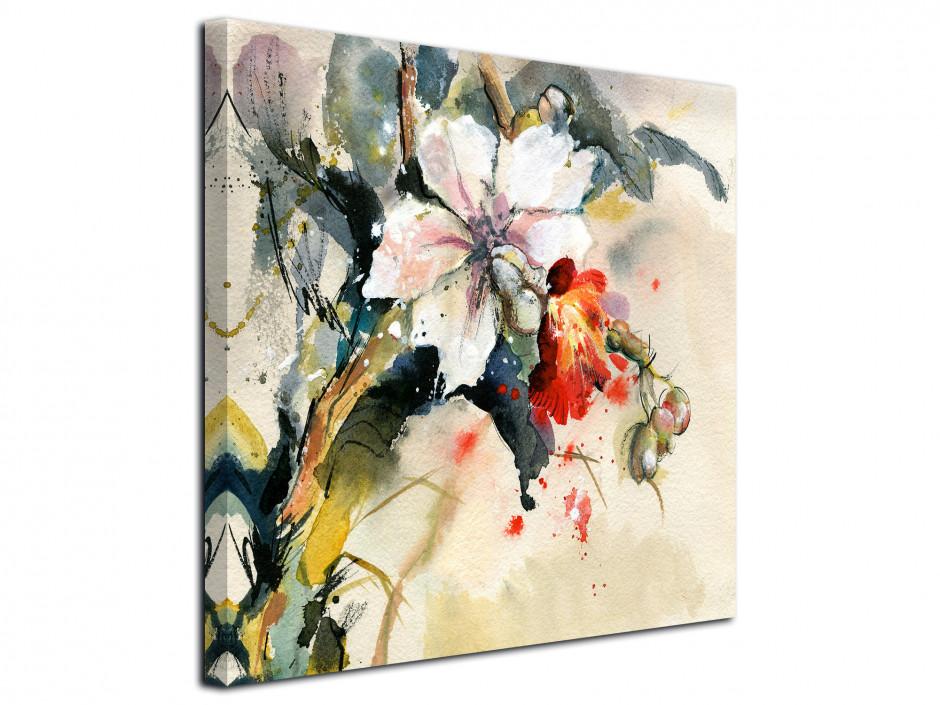Cadre déco peinture abstraite