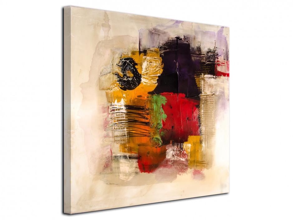 Tableau toile peinture Abstrait