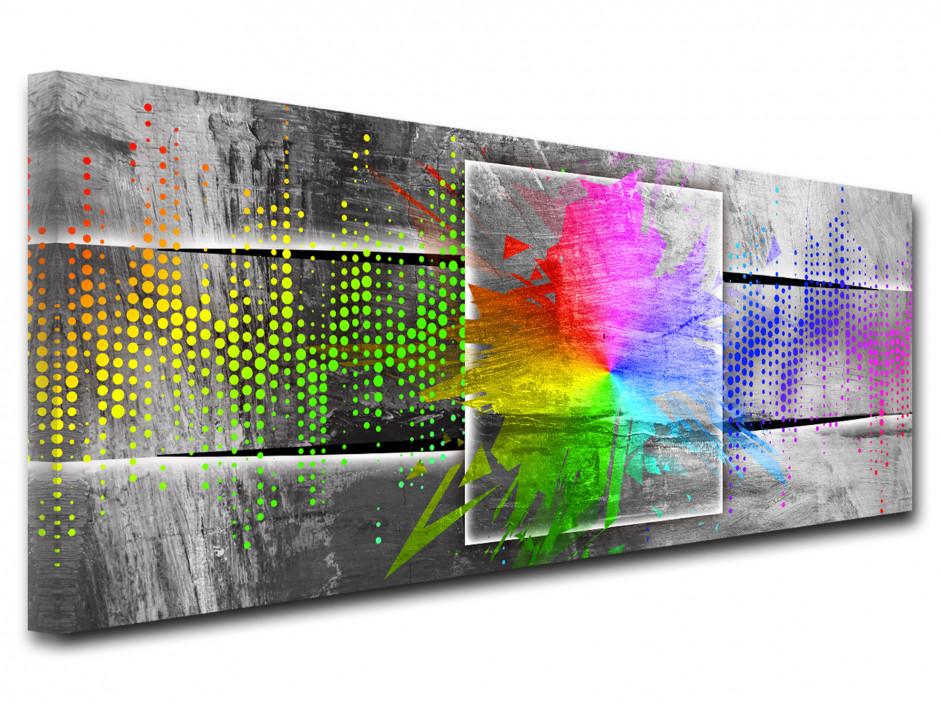Tableau moderne Spectre de lumière