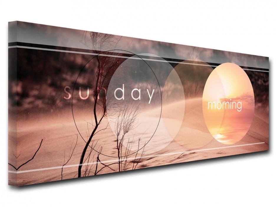 Tableau design Sunday Morning