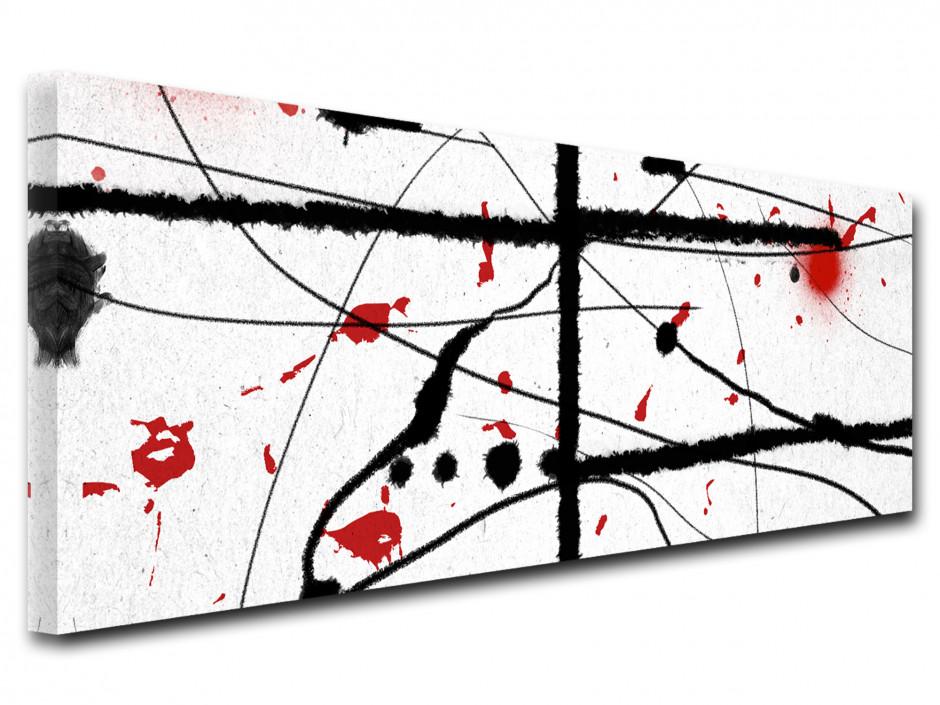 Tableau design panoramique Les lignes
