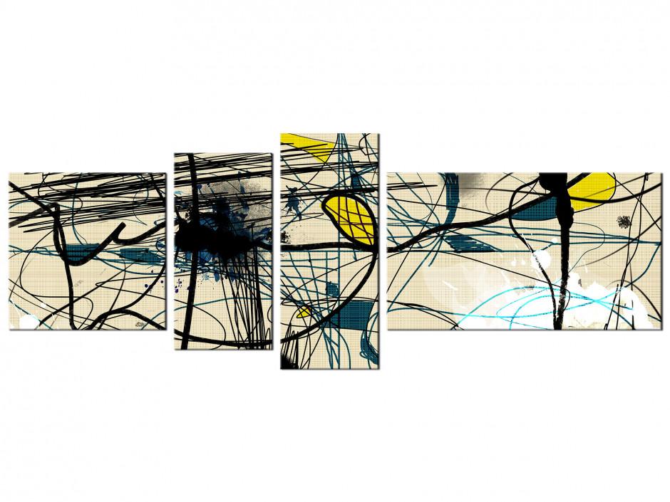 Tableau design moderne Lignes