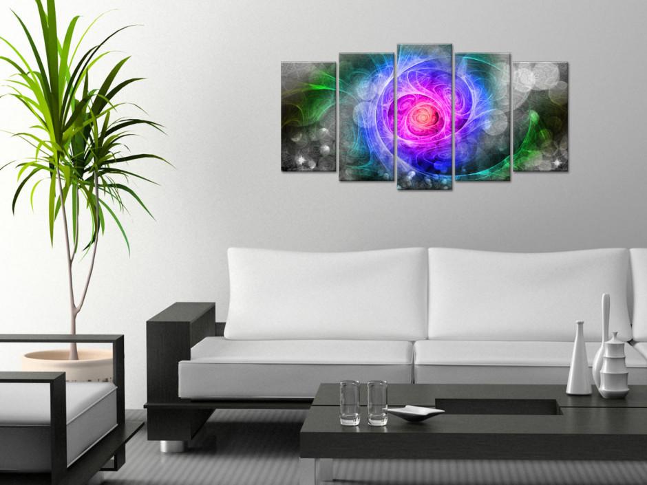Tableau déco design Galaxie Abstraite