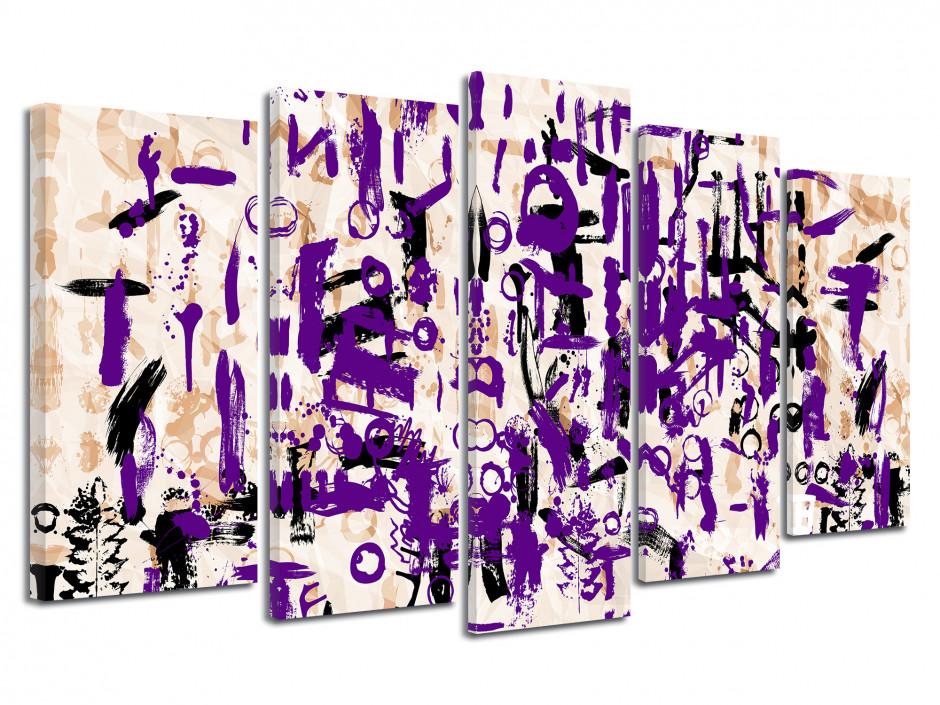 Tableau toile design décoration abstraite