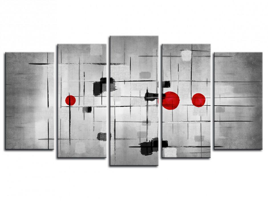Tableau quintyque Design contemporain