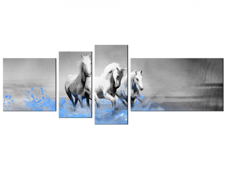 Tableau multipanneaux Les chevaux