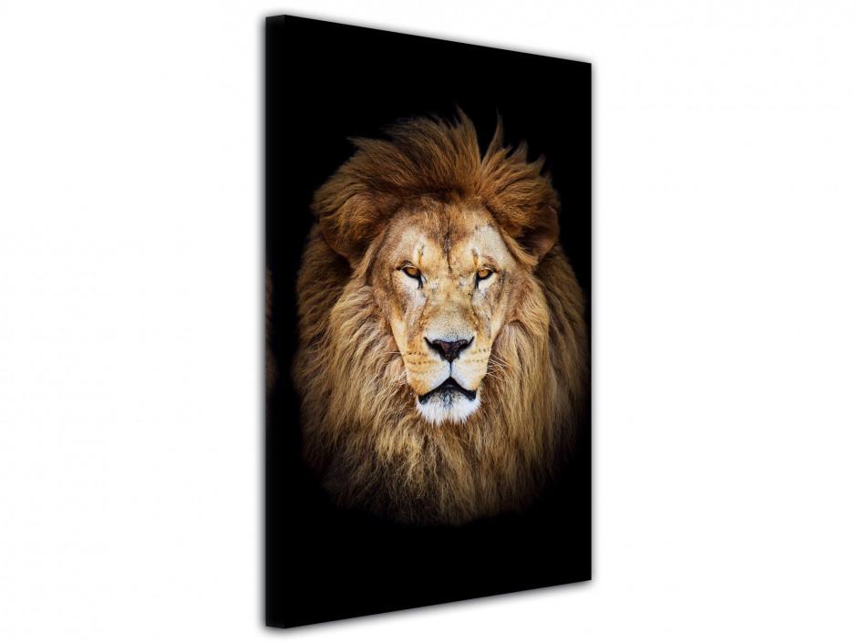 Tableau unique Le Roi LION
