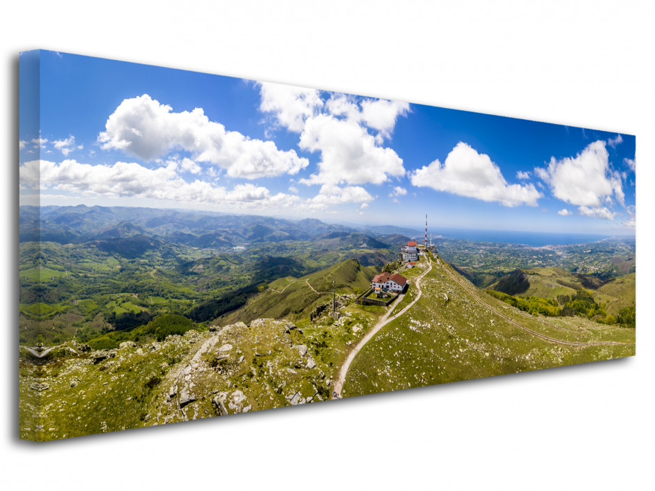 Tableau photo panoramique La Rhune Pays Basque