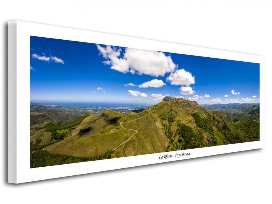 Tableau photo déco paysage panoramique La Rhune