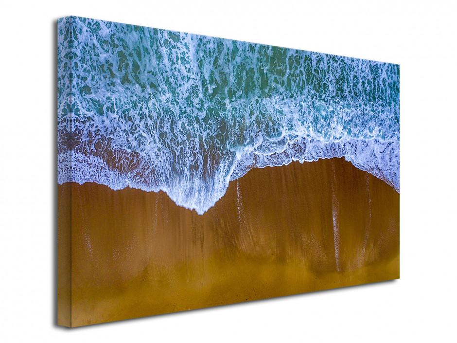 Cadre déco mural L'Océan vue du Ciel