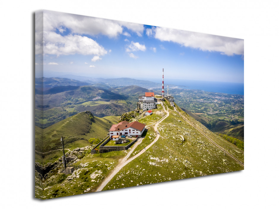 Tableau photo paysage La Rhune Pays Basque