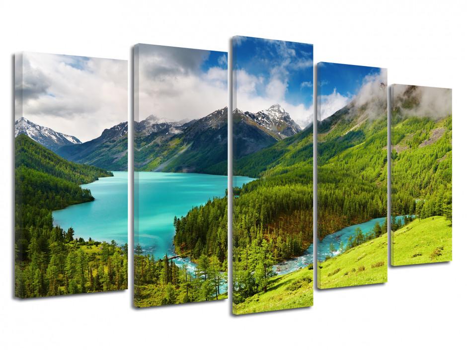 Tableau cadre photo lac du CANADA