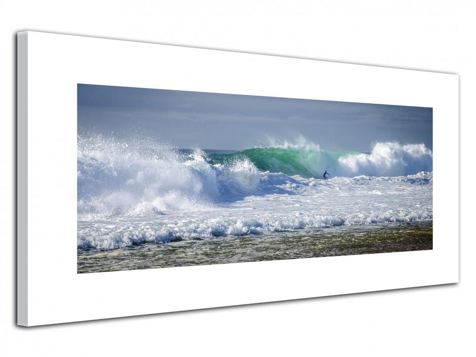 Tableau toile deco surf océan Hossegor