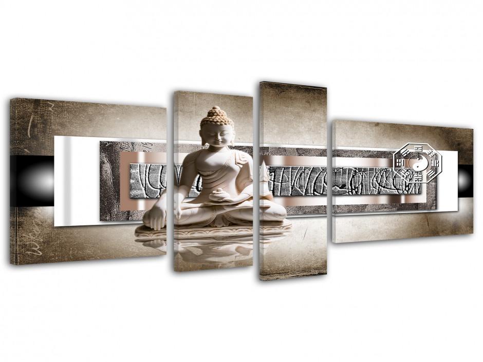 Cadre deco mural Zen et Bouddha