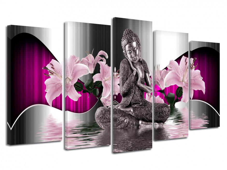 Tableau toile deco zen Bouddha