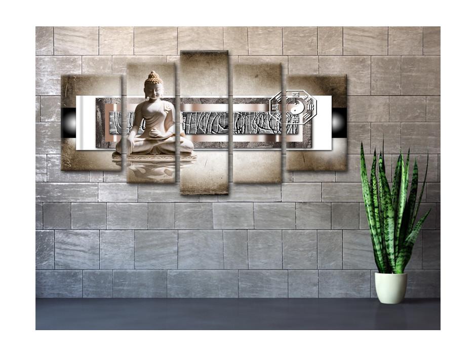 Cadre déco Zen Bouddha