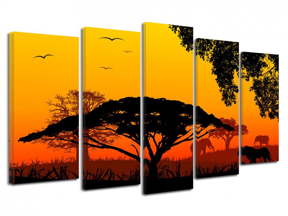 Tableau décoration la savane