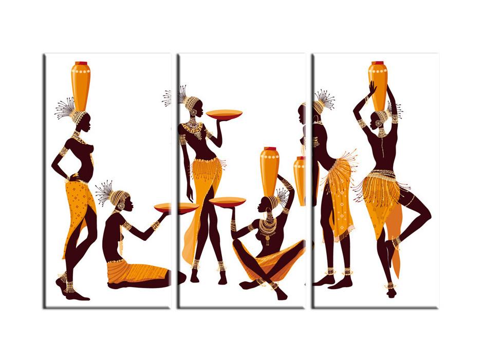 Tableau décoration femmes Africaines
