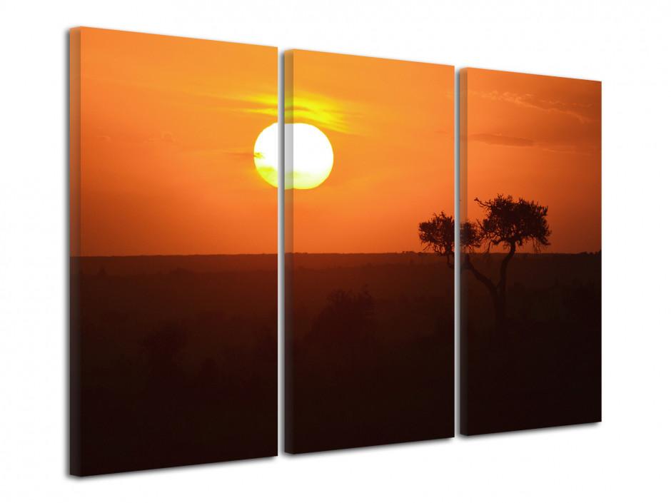 Tableau photo Le soleil Africain
