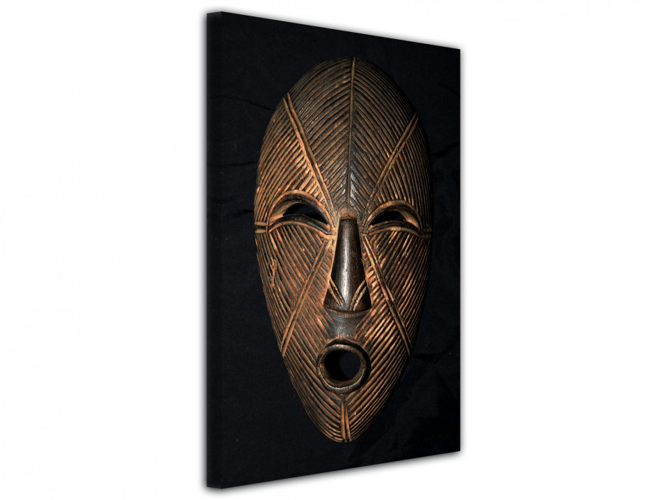 Tableau Photo Masque Africain