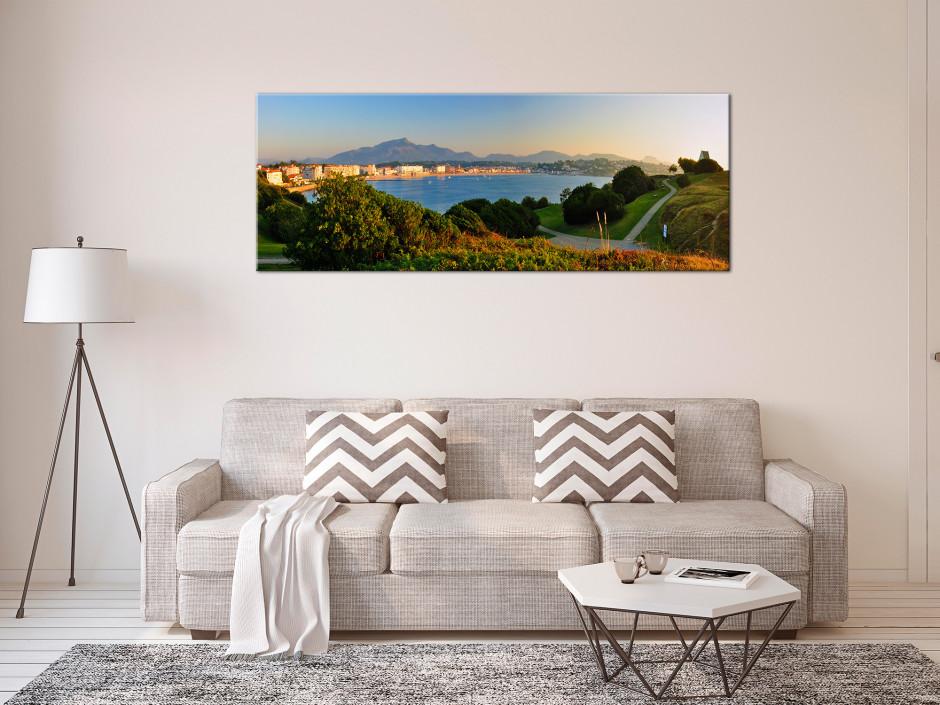 Tableau photo panoramique SAINT JEAN DE LUZ