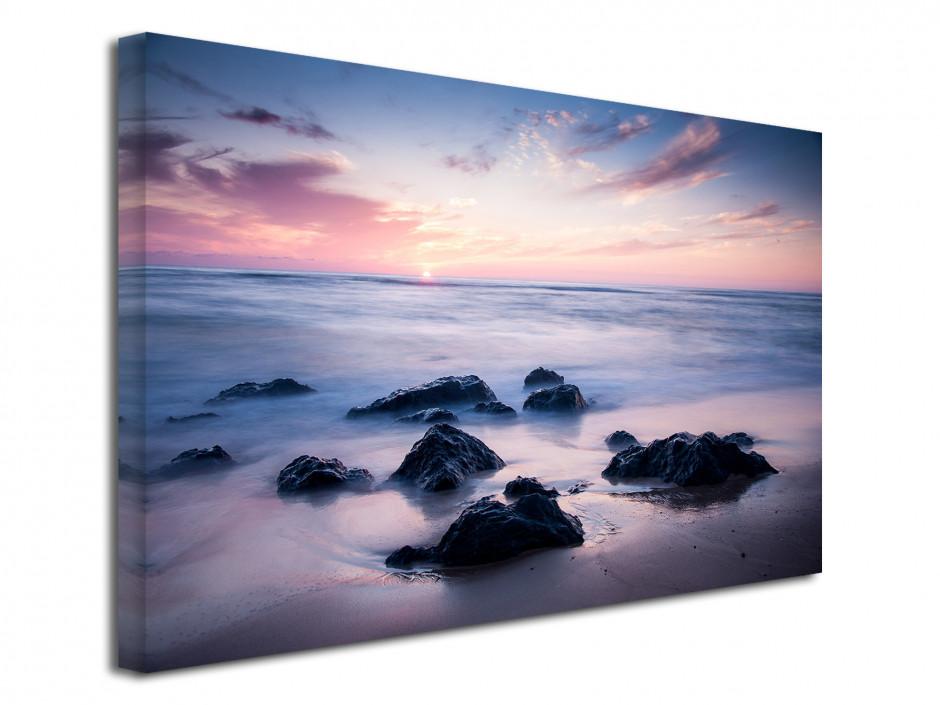 Tableau toile photo paysage plage de Seignosse