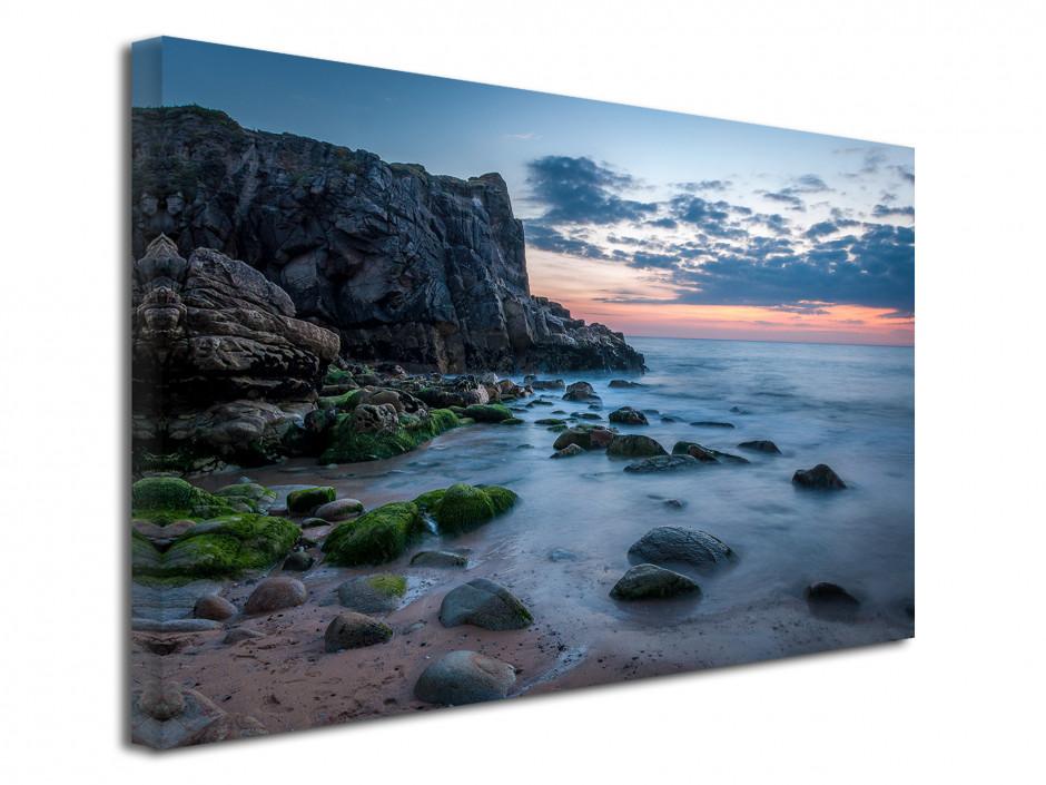 Tableau toile photographie pause longue Quiberon