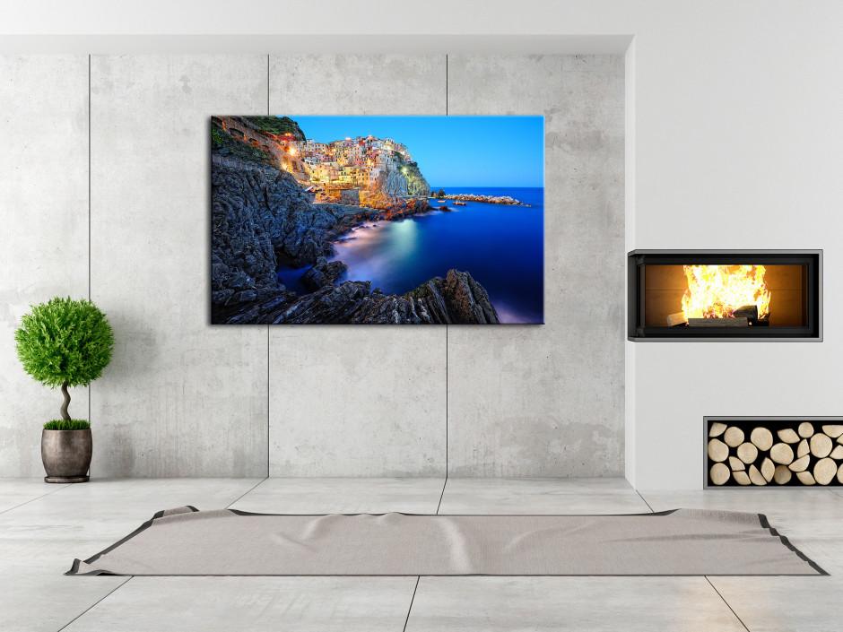 Tableau photo sur toile Riomaggiore Italie