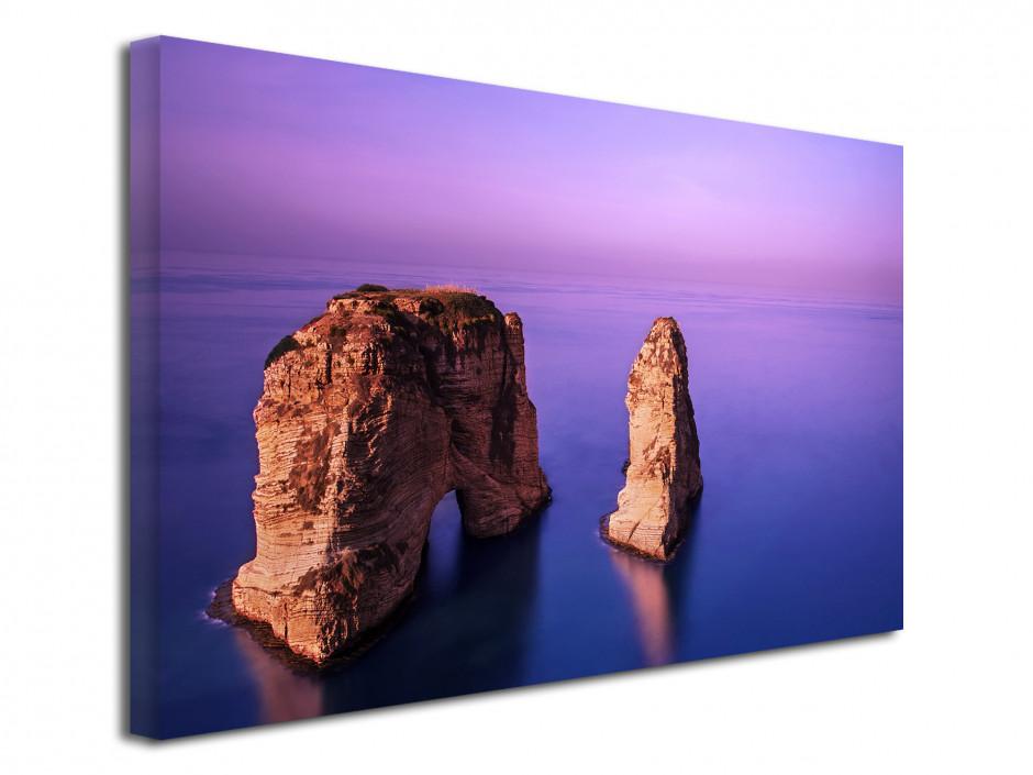Tableau toile déco paysage Rawsha Rock