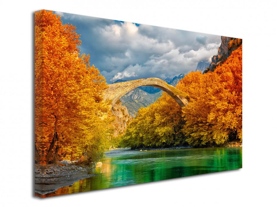 Tableau déco paysage Pont de Konitsa