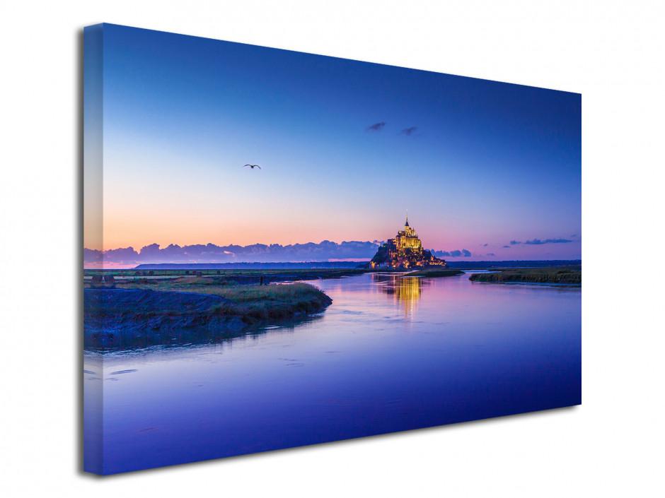 Tableau déco photo paysage MONT ST MICHEL
