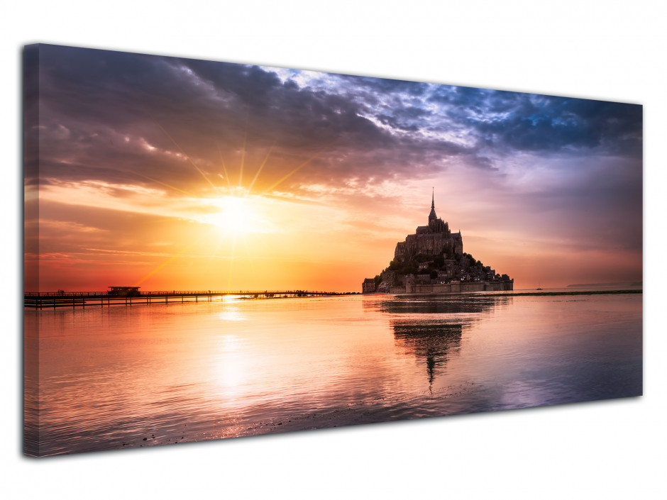 Tableau photo deco MONT SAINT MICHEL