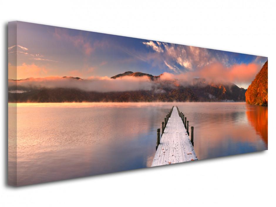 Tableau deco photo panoramique LAC CHUZENJI