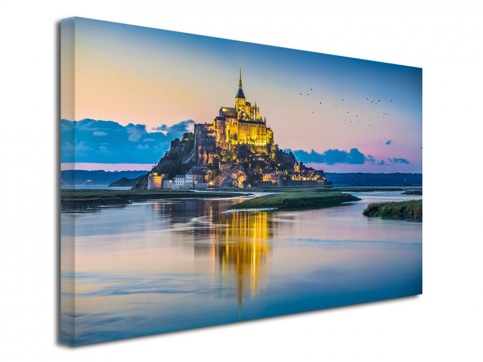Tableau déco photo baie du mont-Saint-Michel