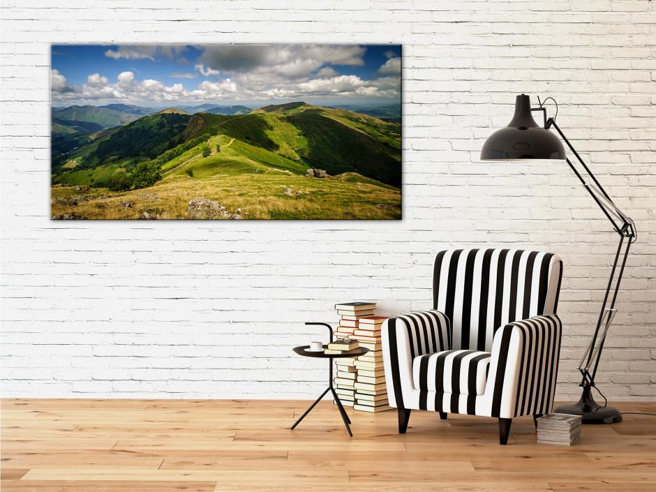Tableau photo deco panorama des MONTAGNES BASQUE