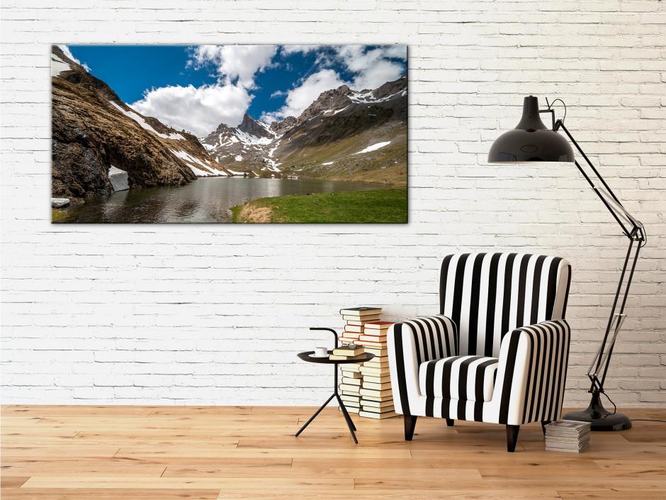Tableau deco panoramique sur le LAC DE LHURS