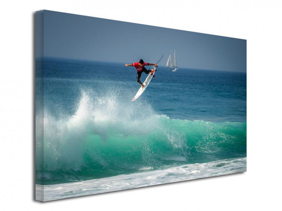 Tableau photo deco SURF DANS LES LANDES