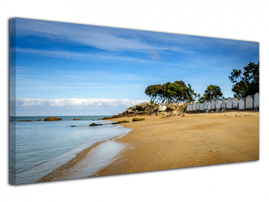 Tableau photo panorama PLAGE DES DAMES