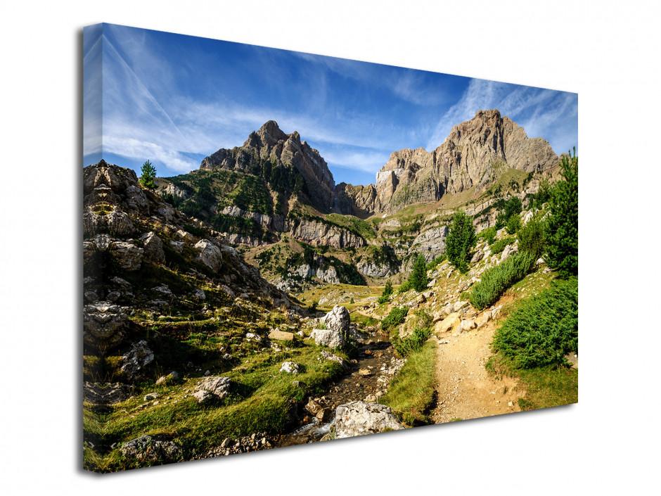 Tableau toile paysage Peña Telera