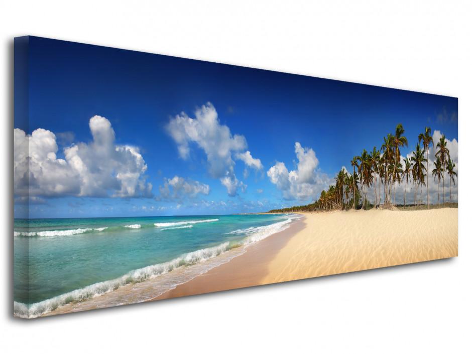 Tableau panoramique PLAGE TROPICALE