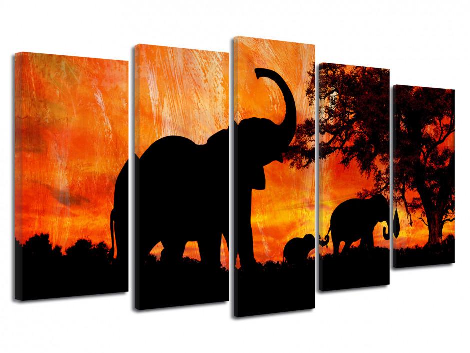 Tableau déco design Elephant