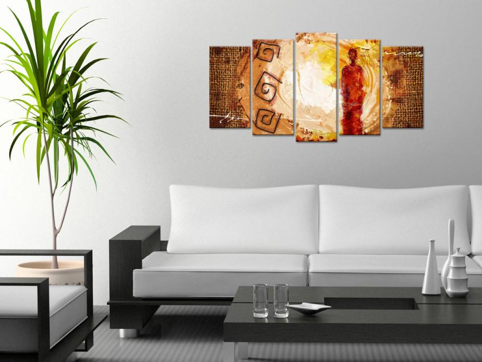 Tableau decoratif design Africain