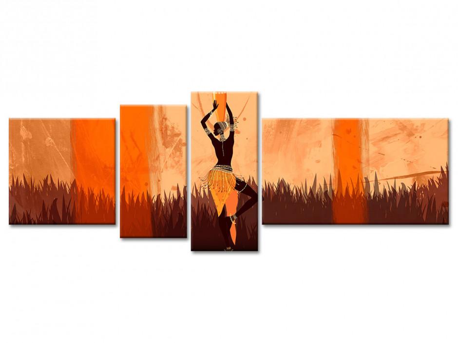 Tableau toile deco femme Africaine