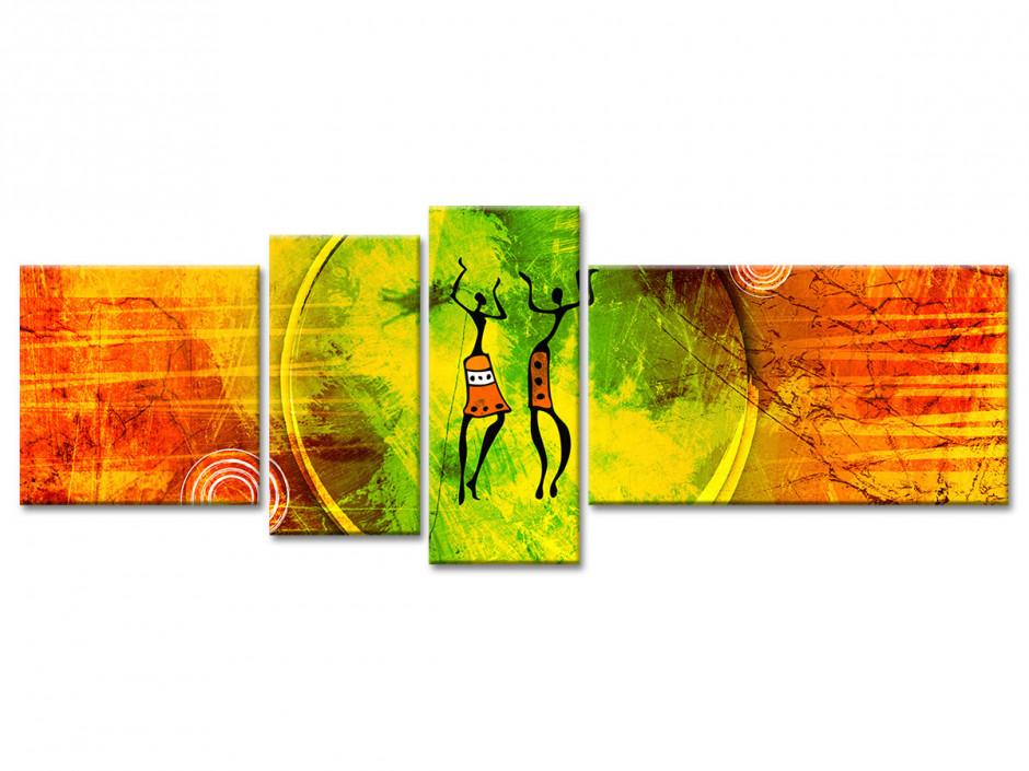 Tableau toile decoratiopn murale Ethnique