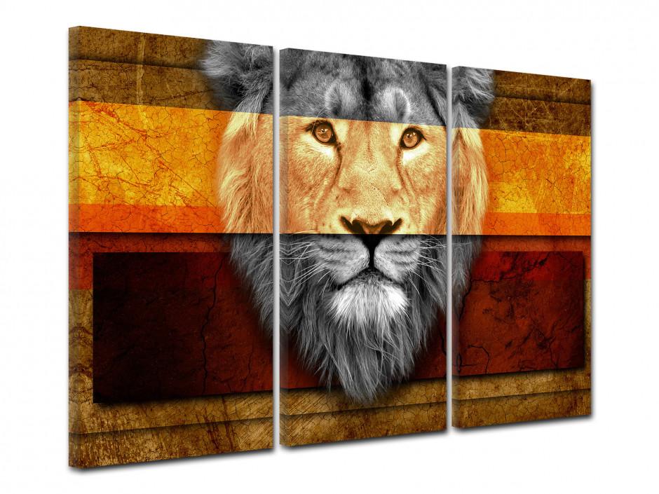 Tableau toile decoration murale Africaine
