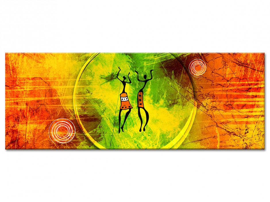 Tableau toile décoration Africaine
